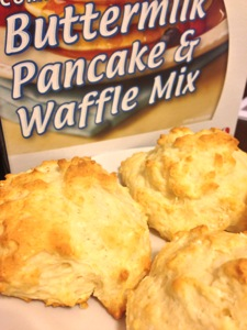 Safeway brand Buttermilk Pancake & Waffle Mix The just-add-water kind