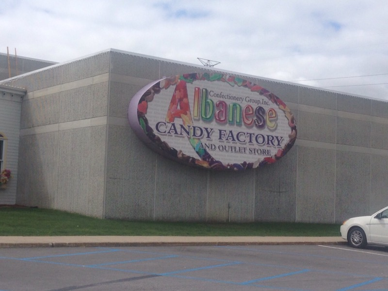 Albanese Candy Factory sign