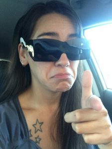 Unhappy with disposable sunglasses